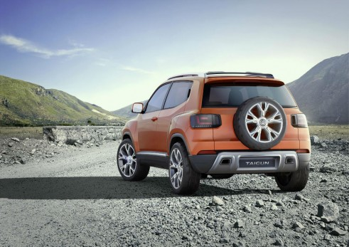 VW Taigun Concept Rear - carwitter