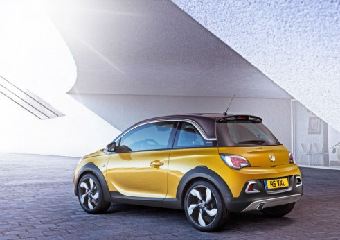 Vauxhall Adam ROCKS Rear Angle carwitter 491x346 - Vauxhall Adam ROCKS - Vauxhall Adam ROCKS
