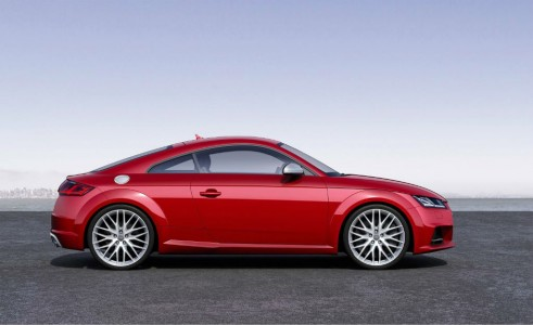 2014 Audi TT - Side - carwitter