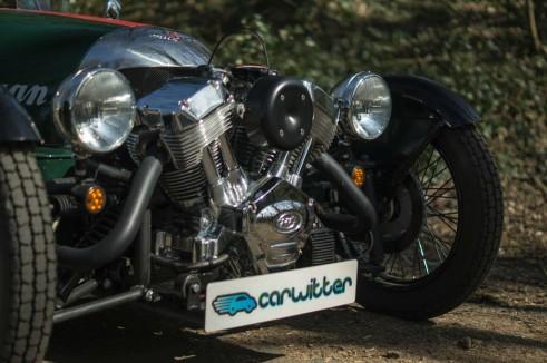 2014 Morgan 3 Wheeler Review - Engine - carwitter