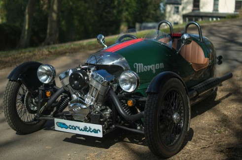 2014 Morgan 3 Wheeler Review - Front Angle Close - carwitter