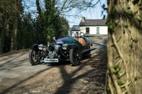 2014 Morgan 3 Wheeler Review - Front Angle Scene - carwitter