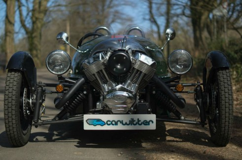 2014 Morgan 3 Wheeler Review - Front - carwitter