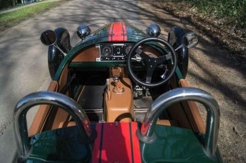 2014 Morgan 3 Wheeler Review - Interior Full - carwitter