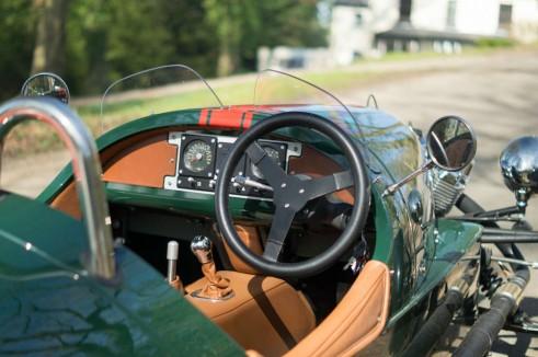 2014 Morgan 3 Wheeler Review - Interior - carwitter