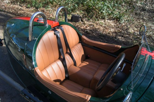 2014 Morgan 3 Wheeler Review - Seats - carwitter