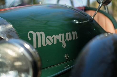 2014 Morgan 3 Wheeler Review - Side Sticker - carwitter
