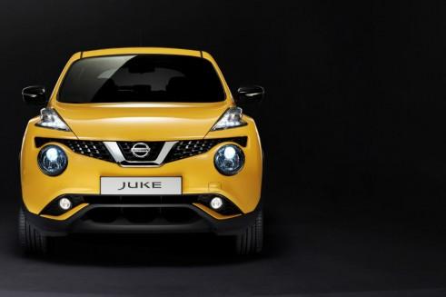 2014 Nissan Juke Facelift - Front - carwitter
