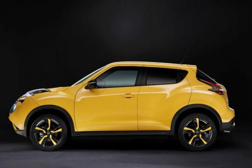 2014 Nissan Juke Facelift - Side - carwitter