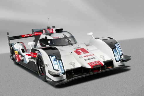 Audi R18 launch - carwitter