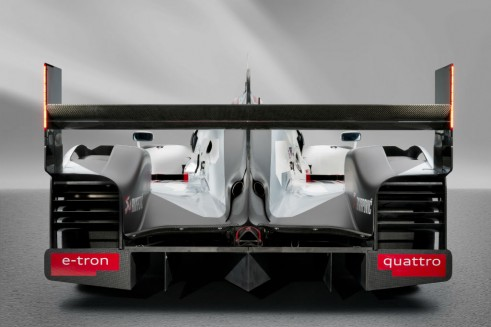 Audi R18 launch rear - carwitter