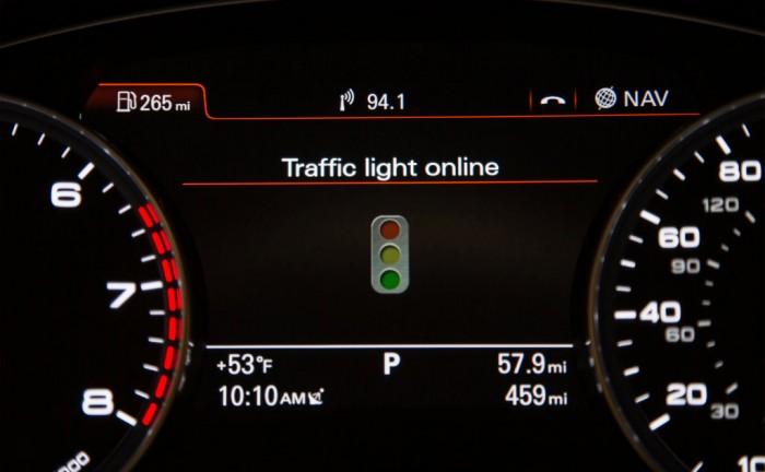 Audi traffic info carwitter 700x432 - Audi aim to end traffic light hell - Audi aim to end traffic light hell