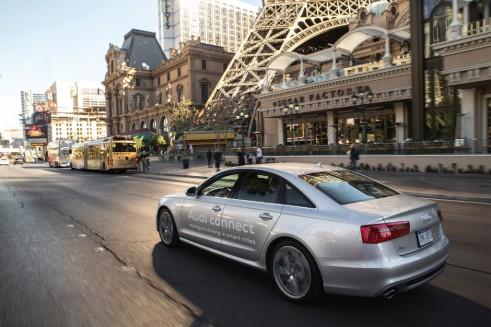 Audi traffic info testing - carwitter