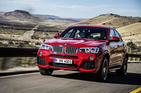 BMW X4 front 3 - carwitter