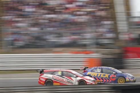 BTCC 2014 - Brands Hatch Indy - Jodan Shedden - carwitter
