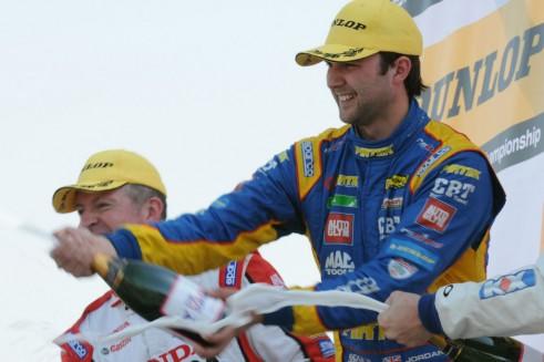 BTCC 2014 - Brands Hatch Indy - Jordan Podium - carwitter