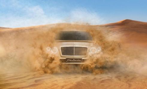 Bentley SUV - carwitter