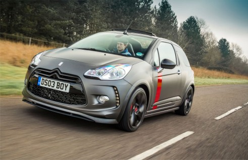 Citroen DS3 Cabrio Racing front - carwitter-w1024