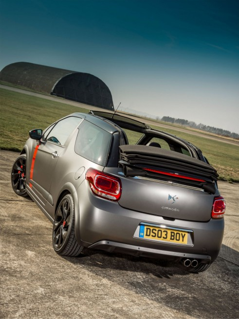 Citroen DS3 Cabrio Racing rear 2 - carwitter-w1024