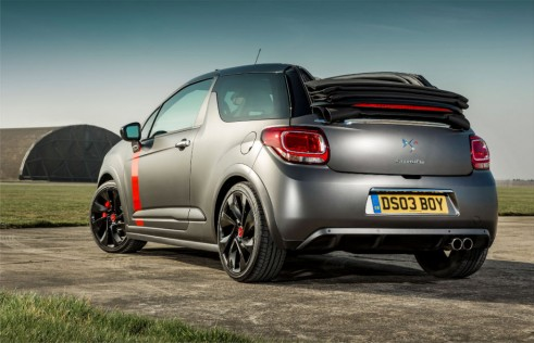 Citroen DS3 Cabrio Racing rear - carwitter-w1024