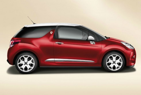 Citroen DS3 by Benefit DSign side - carwitter