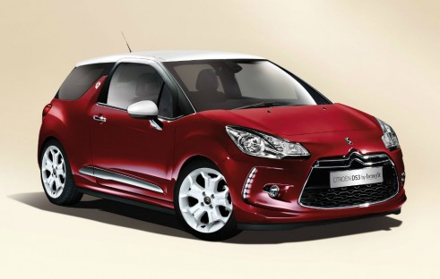 Citroen DS3 by Benefit front - carwitter