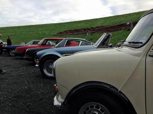 Great Escape Classic Car Hire - Car Lineup