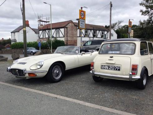 Great Escape Classic Car Hire - Jaguar EType