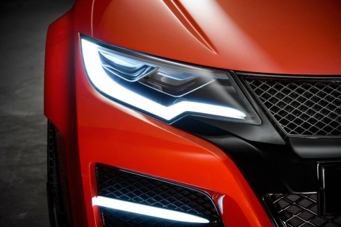 Honda Civic Type R Concept - Headlight DRL - carwitter