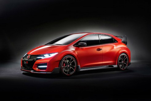 Honda Civic Type R Concept Side Angle carwitter 491x327 - The Rise of the Hyper Hatch - The Rise of the Hyper Hatch