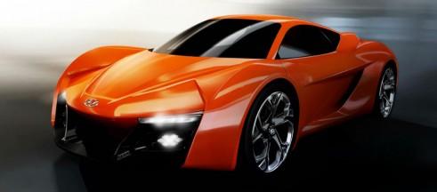 Hyundai PassoCorto Concept - Front Angle - carwitter