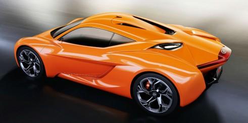 Hyundai PassoCorto Concept - Side Rear - carwitter