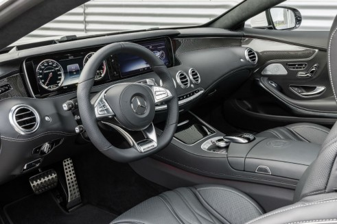 Mercedes-Benz S 63 AMG Coupé - Interior - carwitter