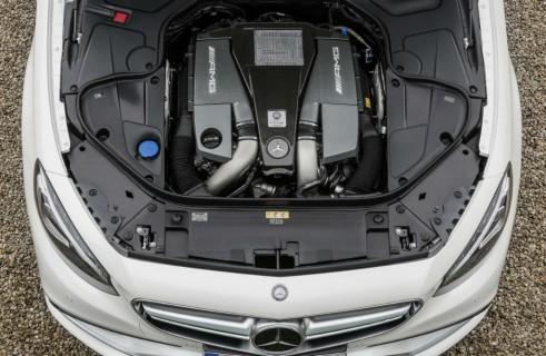 Mercedes-Benz S 63 AMG Coupé - V8 Biturbo Engine - carwitter