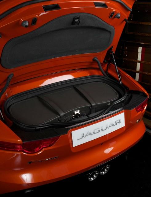 Moynat Jaguar FType Luggage In Boot Landscape - carwitter