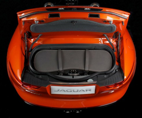 Moynat Jaguar FType Luggage In Boot - carwitter