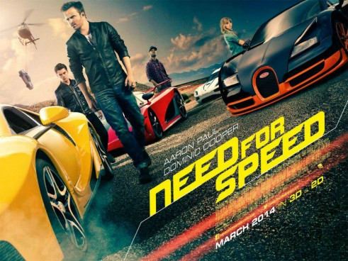 Need For Speed Movie Poster 2014 carwitter 491x368 - Need For Speed - Film Review 2014 - Need For Speed - Film Review 2014