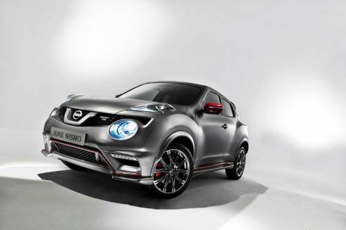 Nismo Juke RS - Front Angle - carwitter