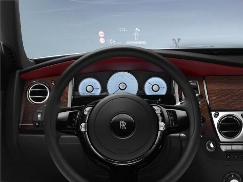 Rolls Royce Ghost Series II dash - carwitter