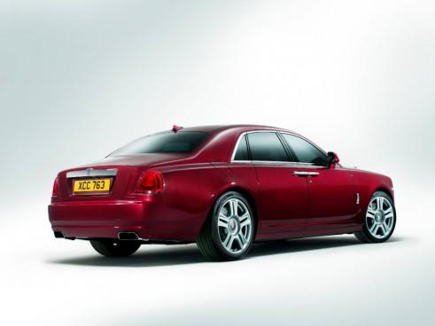Rolls Royce Ghost Series II rear - carwitter