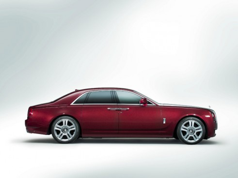 Rolls Royce Ghost Series II side - carwitter