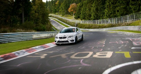 SEAT Leon Cupra 280 Nurburgring - On Track - carwitter