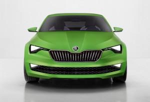 Skoda Vision C front carwitter 300x204 - Skoda's VisionC concept arrives - Skoda's VisionC concept arrives