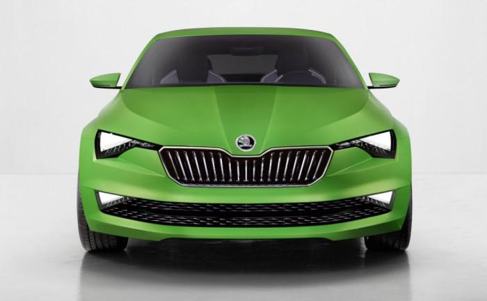 Skoda Vision C front carwitter 700x432 - Skoda's VisionC concept arrives - Skoda's VisionC concept arrives