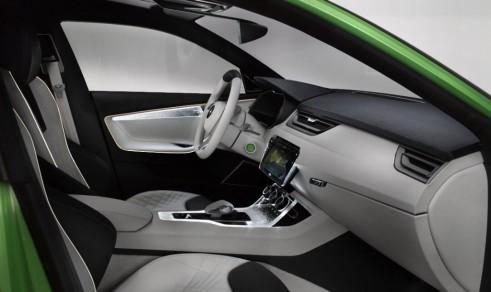 Skoda VisionC interior - carwitter
