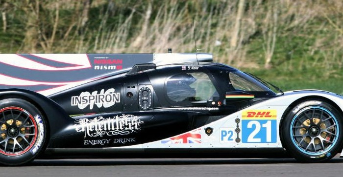 Strakka DOME S103 Chassis Side carwitter e1395699308554 700x363 - Strakka test new S103 LMP2 chassis - Strakka test new S103 LMP2 chassis