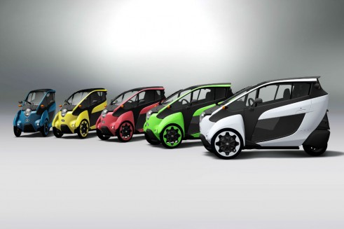 Toyota i-ROAD - carwitter