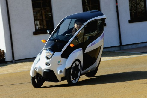 Toyota i-ROAD front 3 - carwitter