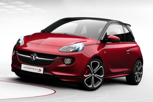 Vauxhall ADAM S - Front - carwitter
