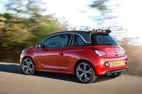 Vauxhall ADAM S - Rear Angle - carwitter